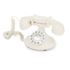 GPO Pearl Classic Retro Corded Telephone - Ivory: Image 1