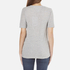 Cheap Monday Women's Break T-Shirt with Placed Text - Grey Melange: Image 3