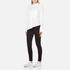 Cheap Monday Women's Force Poplin Shirt - White: Image 4