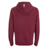 Crosshatch Men's Quon Kangaroo Pocket Hoody - Syrah: Image 2