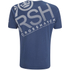 Crosshatch Men's Hicker Graphic T-Shirt - Estate Blue: Image 2