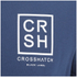 Crosshatch Men's Hicker Graphic T-Shirt - Estate Blue: Image 3