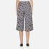 Diane von Furstenberg Women's Stanton Culottes - Ribon Rectangles Khaki: Image 3