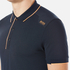 BOSS Green Men's Paule 1 Polo Shirt - Blue: Image 5