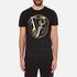 Versace Jeans Men's Foil Print T-Shirt - Black: Image 1