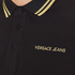 Versace Jeans Men's Tipped Polo Shirt - Black: Image 5
