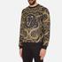 Versace Jeans Men's All Over Print Sweatshirt - Black: Image 2