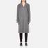 Alexander Wang Women's Oversized Trench Coat with Triple Snap Detail - Gravel: Image 1