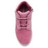Timberland Toddler's Pokey Pine Size Zip Lace Up Boots - Pink Nubuck: Image 3