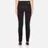 Versus Versace Women's Studded Pocket Jeans - Black: Image 3