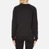 Versus Versace Women's Textured Logo Sweatshirt - Black: Image 3