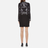 Versus Versace Women's Print Shirt Dress - Black/White: Image 3