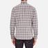 rag & bone Men's Beach Buttoned Shirt - Grey Check: Image 3