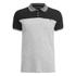 Brave Soul Men's Steranko Panel Tipped Polo Shirt - Black: Image 1