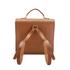 The Cambridge Satchel Company Men's Bridge Closure Backpack - Vintage/Dark Brown: Image 4