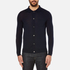 A.P.C. Men's Paolo Knitted Polo Shirt - Marine: Image 1