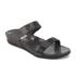 FitFlop Women's Banda Crystal Imi-Snake Slide Sandals - Black: Image 2