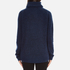 Gestuz Women's Oba Roll Neck Jumper - Navy Blazer: Image 3