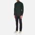 J.Lindeberg Men's Daniel Soft Check Shirt - Green: Image 4