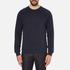 J.Lindeberg Men's Chad Pattern Sweatshirt - Blue: Image 1