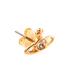 Vivienne Westwood Jewellery Women's Nano Solitaire Earrings - Light Topaz: Image 2