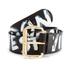 Vivienne Westwood Jewellery Camden Belt - Black/Gold: Image 1