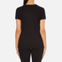 Helmut Lang Women's Medium Weight Cotton Jersey Slash Hem T-Shirt - Black: Image 3