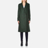 PS by Paul Smith Women's Double Breasted Wool Cashmere Coat - Green: Image 1