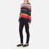 PS by Paul Smith Women's Multi Stripe Jumper - Multi: Image 4