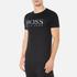 BOSS Orange Men's Tommi 3 Large Logo T-Shirt - Black: Image 2
