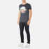 BOSS Orange Men's Taye 3 Printed T-Shirt - Navy: Image 4