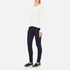 Vero Moda Women's Nine High Waisted Denim Jeans - Dark Blue Denim: Image 4