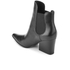 Kendall + Kylie Women's Finley Leather Heeled Chelsea Boots - Black: Image 4