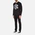 Versus Versace Men's Large Logo Long Sleeve T-Shirt - Black: Image 4