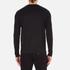 Versus Versace Men's Large Logo Long Sleeve T-Shirt - Black: Image 3