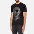 Versus Versace Men's Large Lion Logo T-Shirt - Black Stampa: Image 2