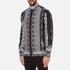 Versus Versace Men's Printed Long Sleeve Shirt - Black/White: Image 2