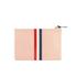 Clare V. Women's Margot Flat Clutch Bag - Blush Navy Cream/Red Stripes: Image 6