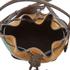 SALAR Women's Tala Small Edges Bucket Bag - Tan/Multi: Image 5