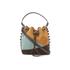 SALAR Women's Tala Small Edges Bucket Bag - Tan/Multi: Image 1