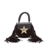 SALAR Women's Mimi Fringe Bag - Black: Image 1