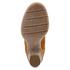 Clarks Women's Carleta Lyon Suede Heeled Ankle Boots - Tan: Image 5