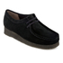 Clarks Originals Women's Wallabee Shoes - Black Suede: Image 2