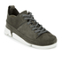 Clarks Originals Women's Trigenic Flex Shoes - Charcoal Suede: Image 2