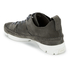 Clarks Originals Women's Trigenic Flex Shoes - Charcoal Suede: Image 4