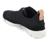 Clarks Originals Women's Trigenic Flex Shoes - Black Nubuck: Image 4