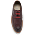 Clarks Men's Pitney Limit Leather Brogues - Chestnut: Image 3