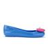 Jeremy Scott for Melissa Women's Space Love Ballet Flats - Blue Contrast Heart: Image 1
