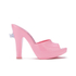 Jeremy Scott for Melissa Women's Inflatable Heeled Mules - Bubblegum Pink: Image 1
