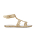 Melissa Women's Campana Barocca 16 Sandals - Gold: Image 3